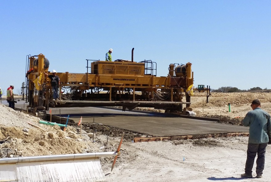Paving the roads of The Hills of Windridge (March 2014)
