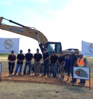 Trails of Fossil Creek Groundbreaking